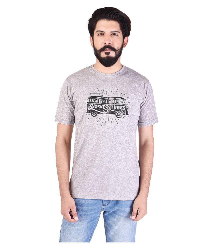 TBC - THE BRO CODE Grey Round T-Shirt