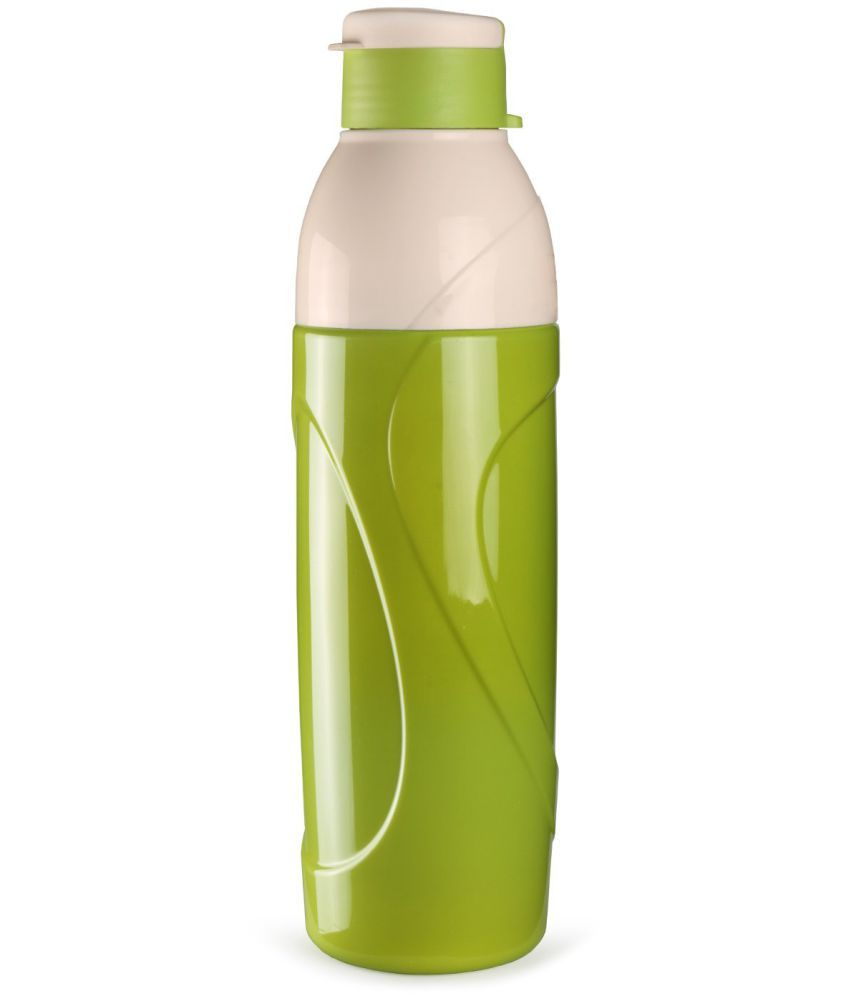 Water Bottle Set: Cello Puro Green 900 Ml School Bottle Set Of 1 Available