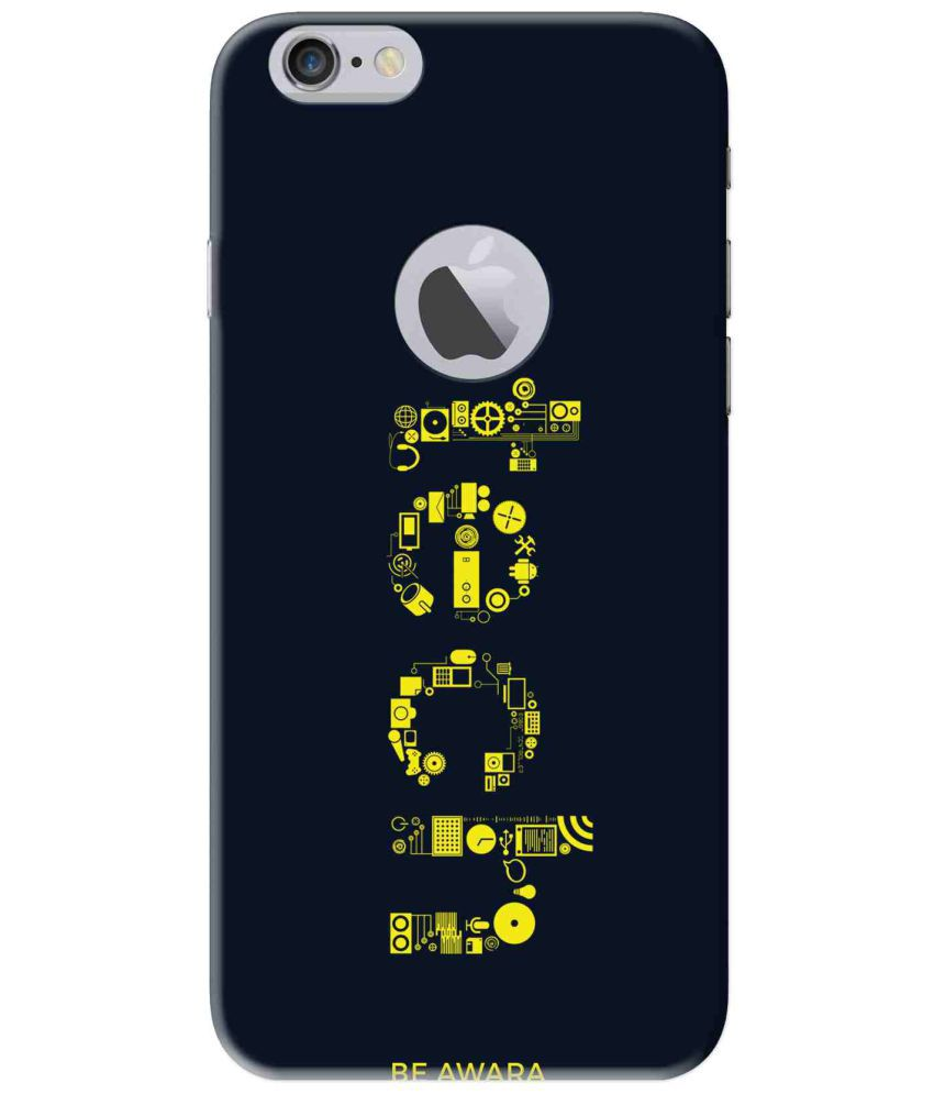 c4d14ff636 Apple iPhone 6 Printed Cover By Be Awara - Printed Back Covers Online at  Low Prices   Snapdeal India