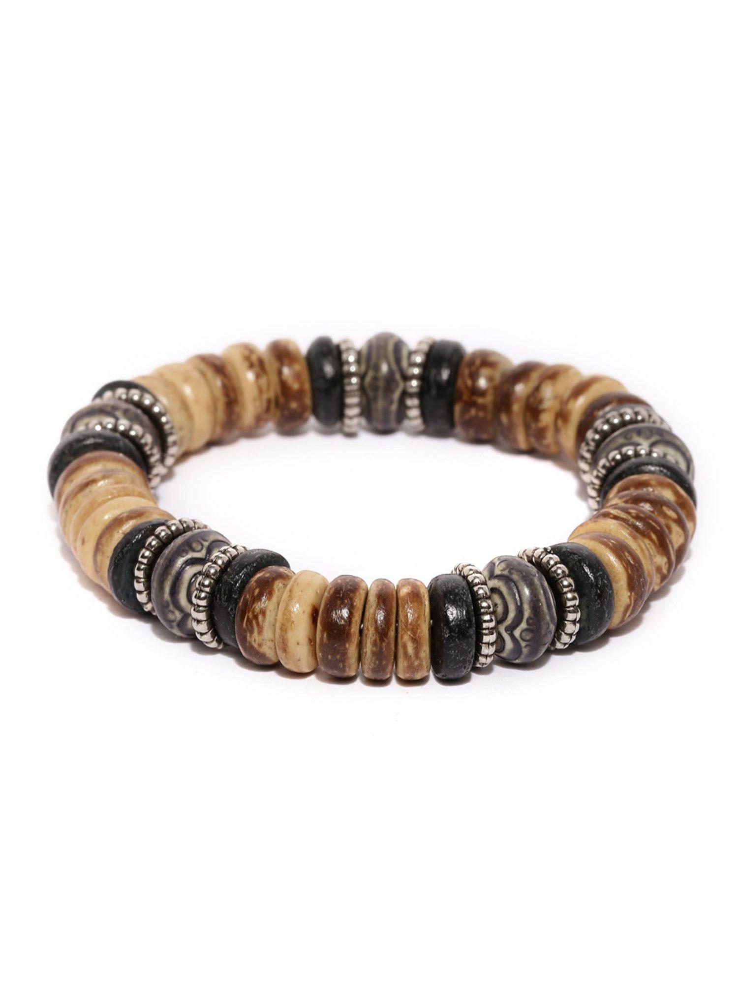 Tipsyfly Western Anjuna Beaded Bracelet For Men