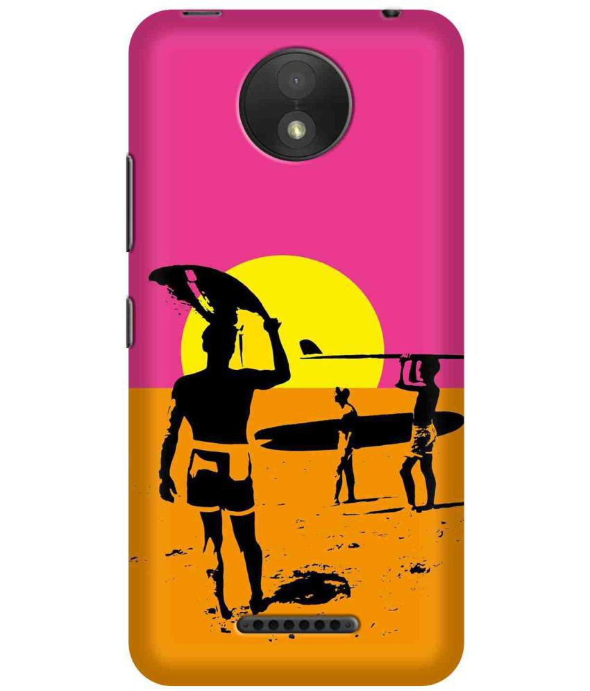 Moto C Plus Printed Cover By SWAGMYCASE