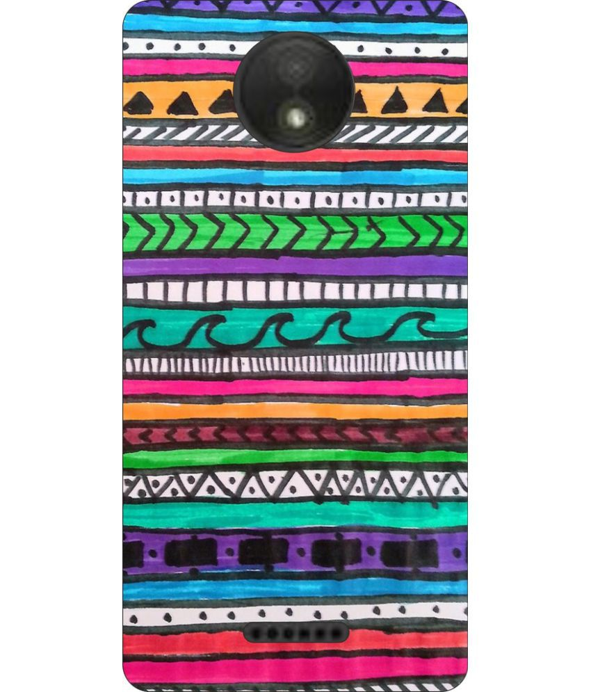 Moto C Plus Printed Cover By Go Hooked