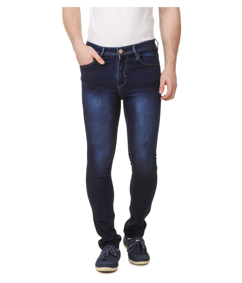 DANZRUS Dark Blue Slim Jeans