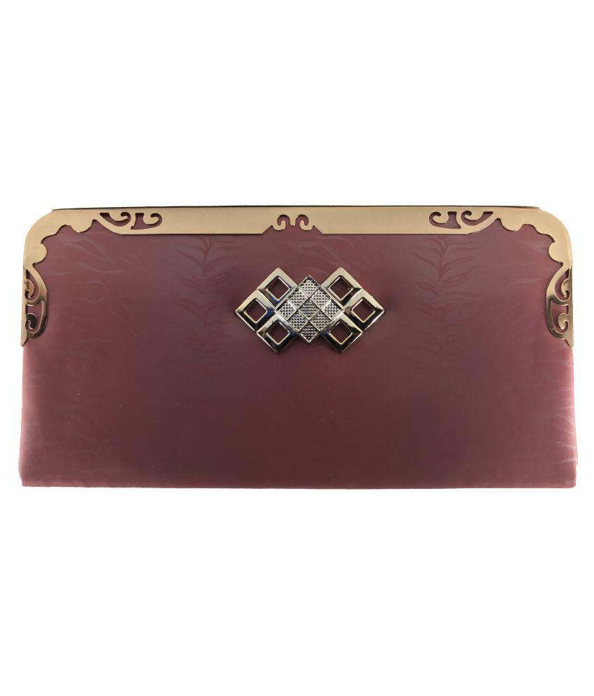 Bizarre Vogue Maroon Wallet