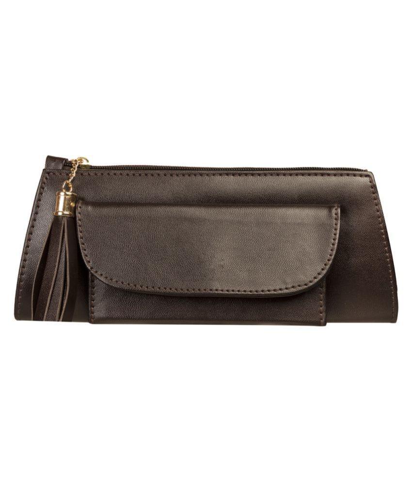 Louise Belgium Black Wallet