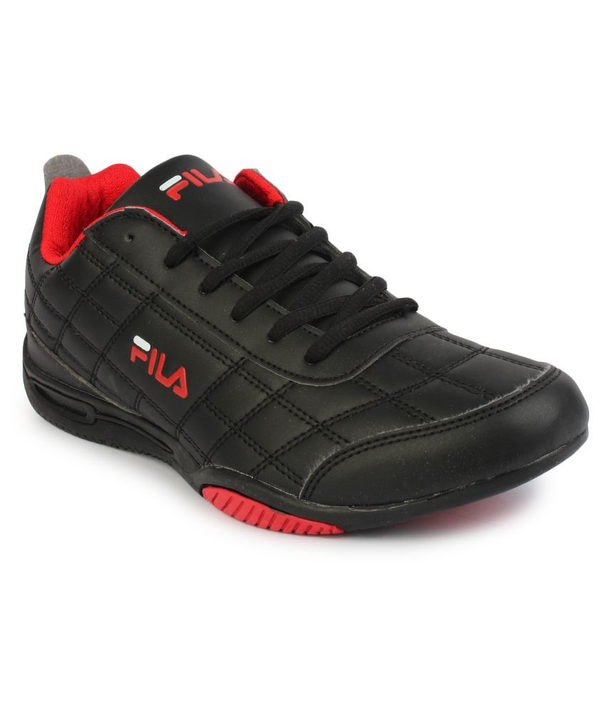 7d2ac24c711c Fila Black Training Shoes - Buy Fila Black Training Shoes Online at Best  Prices in India on Snapdeal