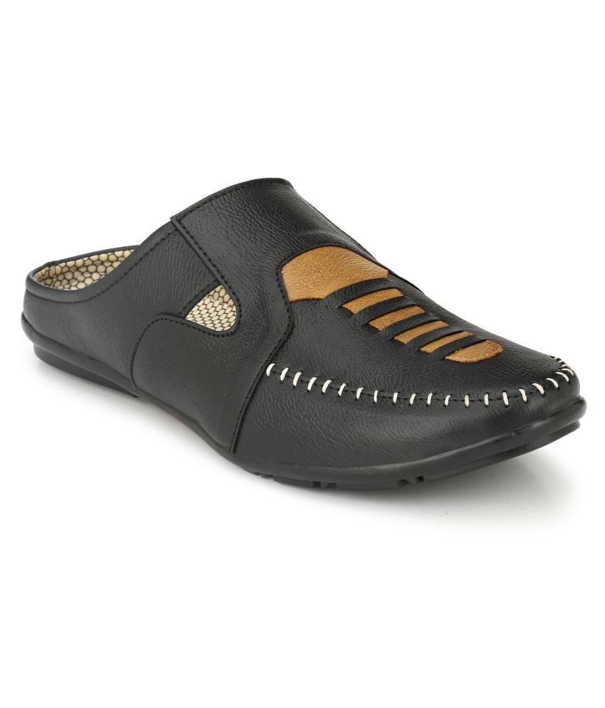 Buy layasa Black Sandals Online at Snapdeal