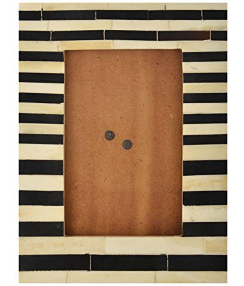 Vintageware Wood TableTop Multicolour Single Photo Frame - Pack of 1