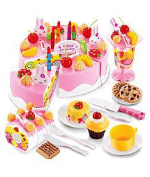 Webby Musical DIY Birthday Cake Toy, 75 Pieces