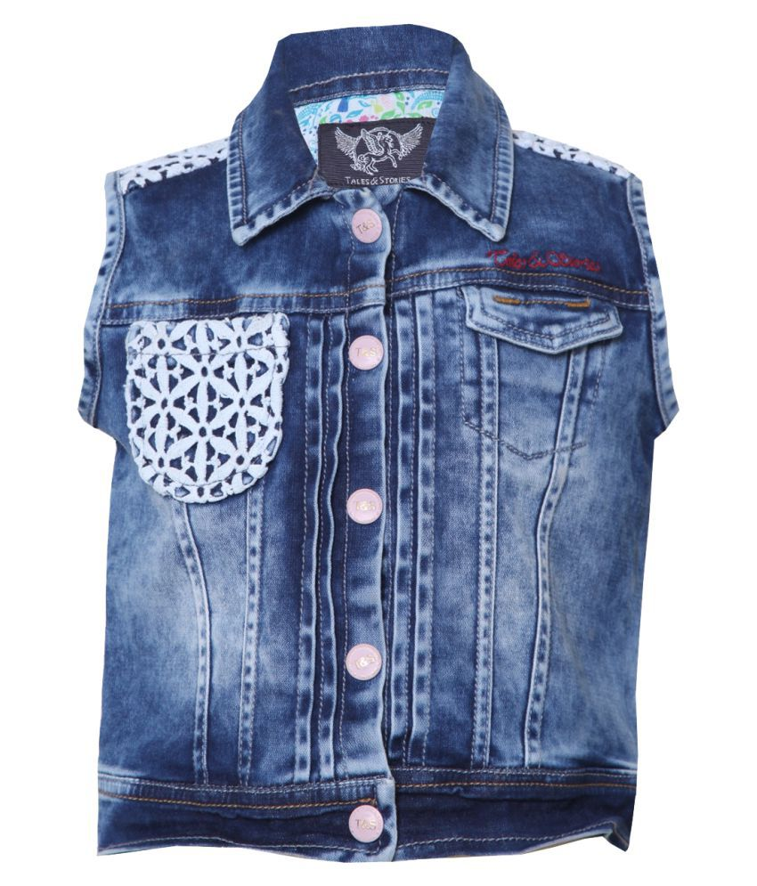 Tales & Stories Girls Denim Jacket