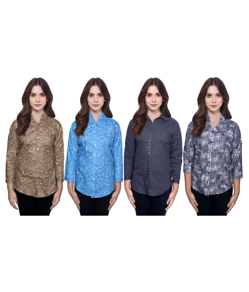 IndiWeaves Cotton Shirt