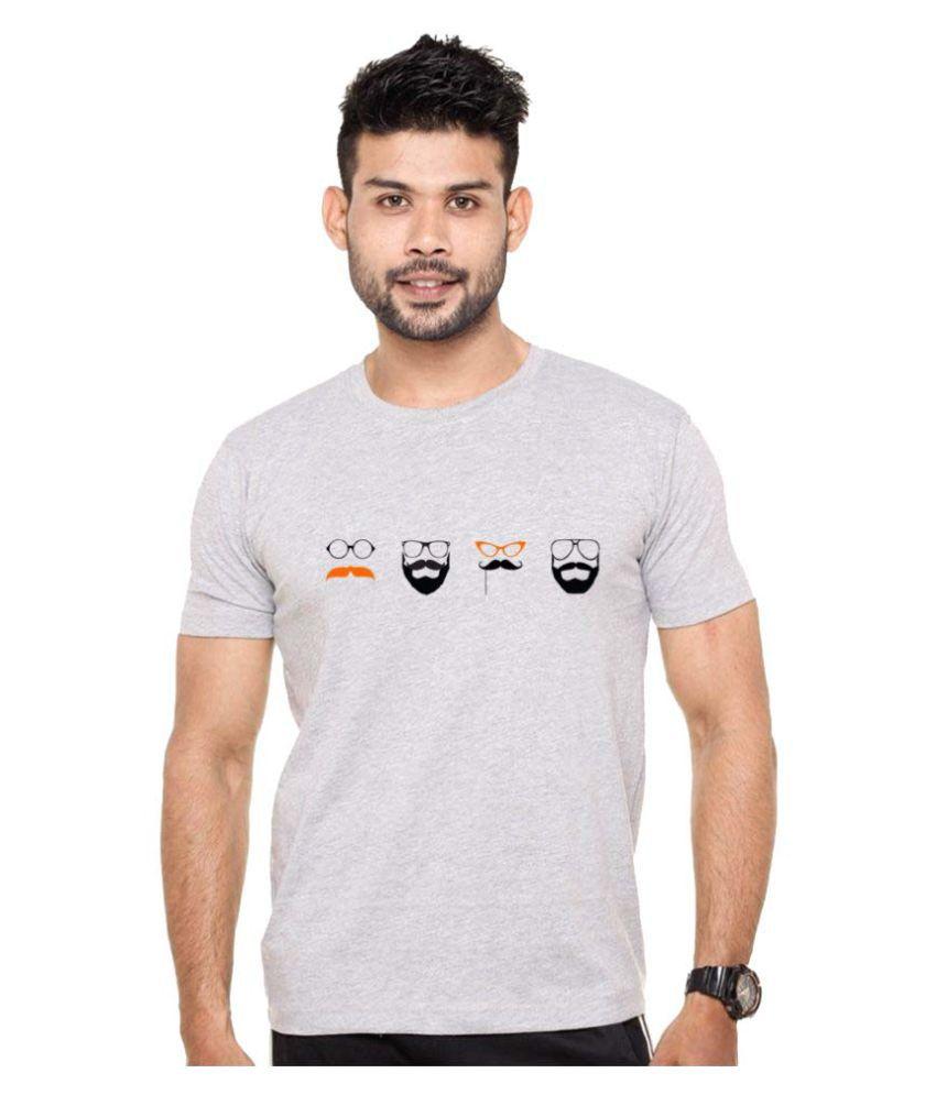 ROOR Grey Round T-Shirt