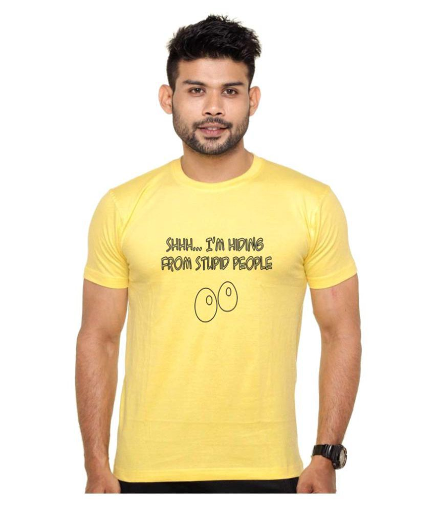 ROOR Yellow Round T-Shirt