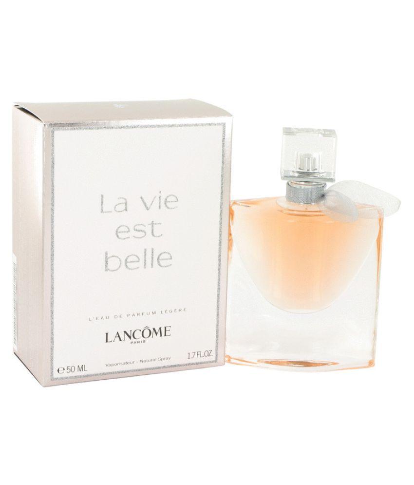 4096fb16734 Lancome La Vie Est Belle Eau De Parfum Legere Spray-50ml: Buy Online at  Best Prices in India - Snapdeal