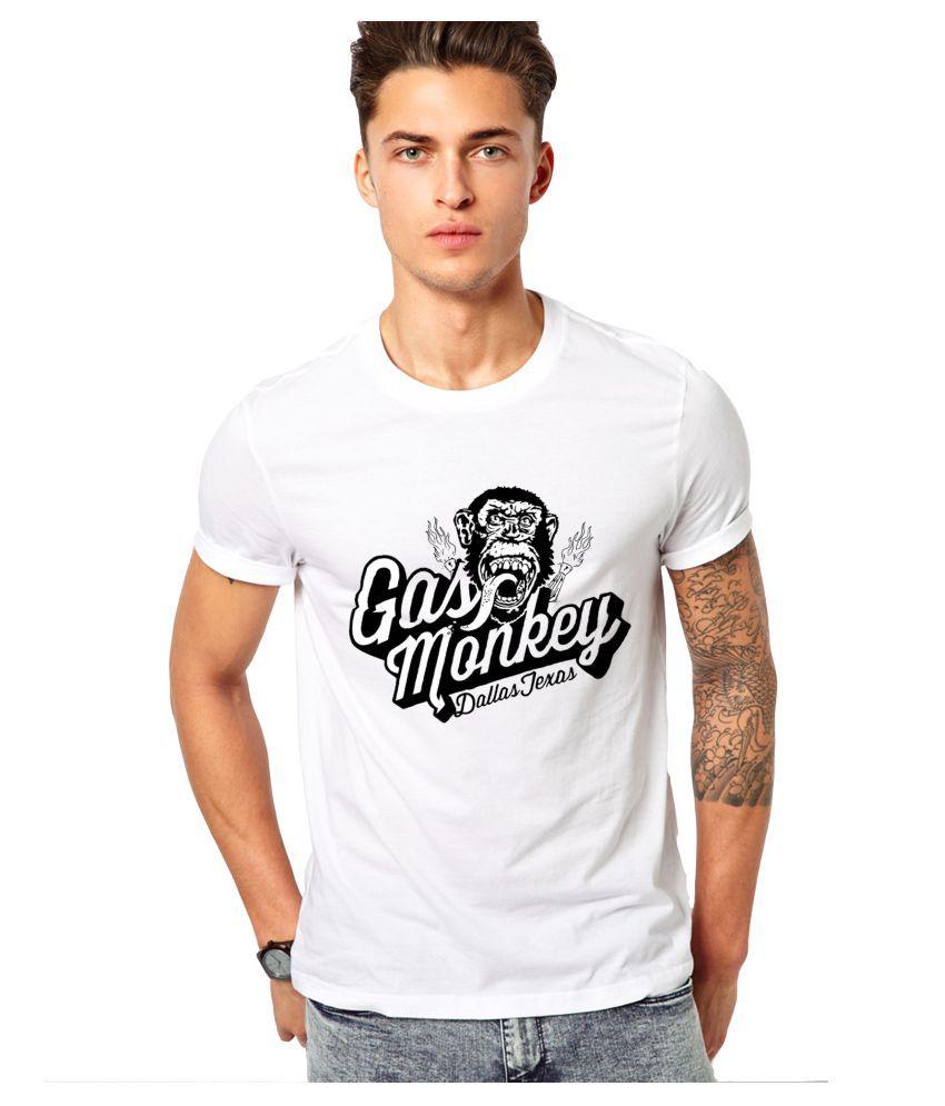 edgemeter White Round T-Shirt