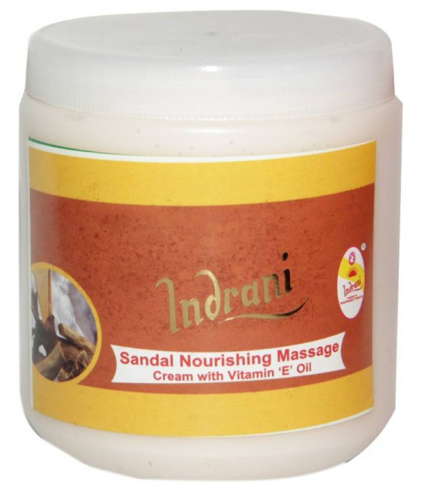 Indrani Sandal Nourishing Massage Cream Moisturizer 500 gm