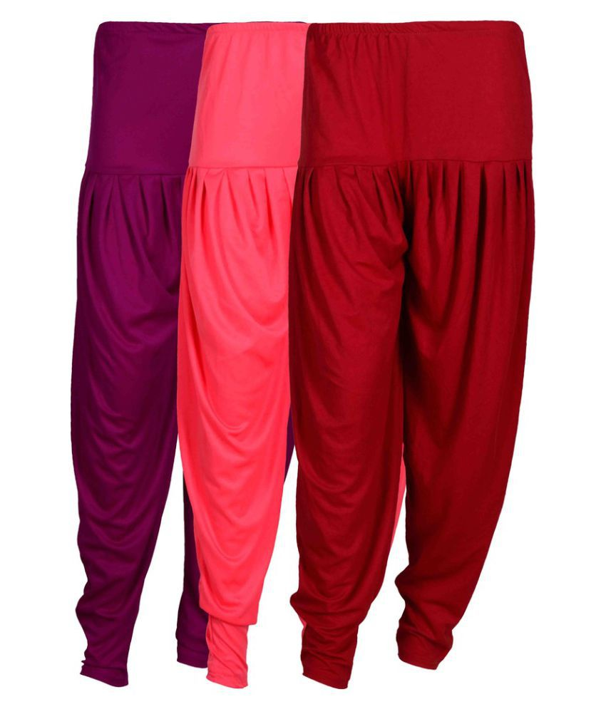 Fashion And Freedom Lycra Pack of 3 Dhoti