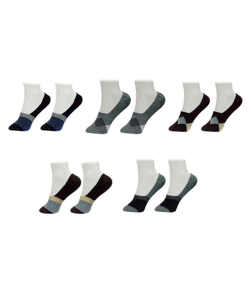 Gold Dust Latest Fancy Loafer Socks (5 Pair)