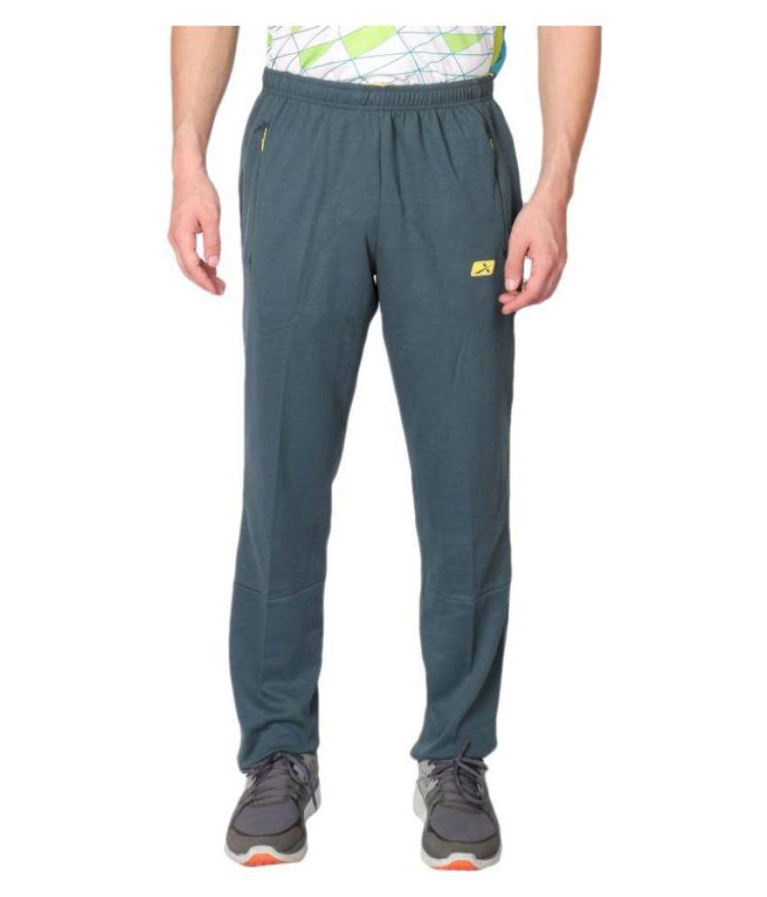 Vector X Blue Cotton Trackpants