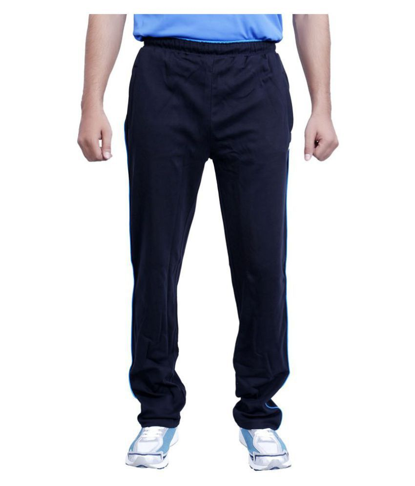Vector X Navy Cotton Trackpants
