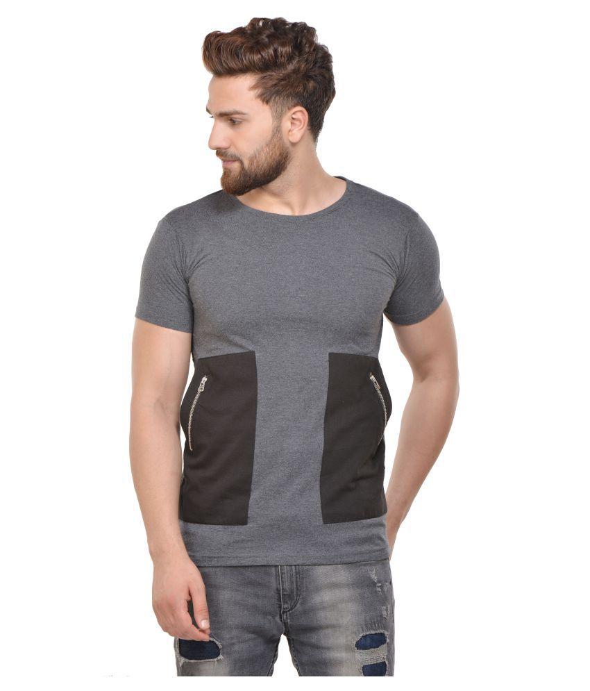 Acomharc Inc Grey Round T-Shirt