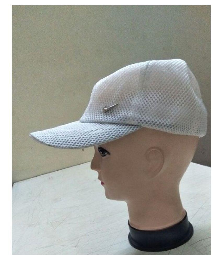 AE White Polyester Caps