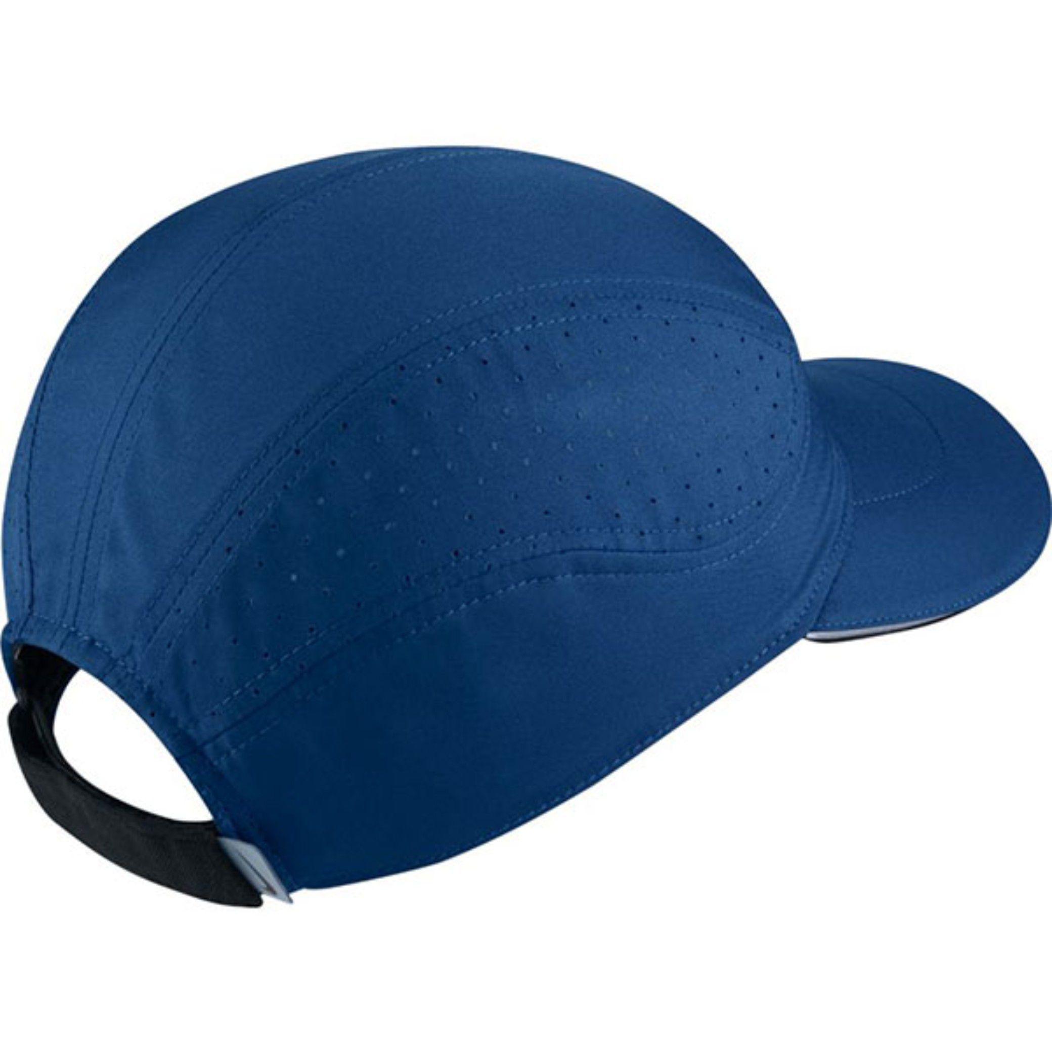 13aaafe1165 Nike Blue Printed Polyester Caps Nike Blue Printed Polyester Caps