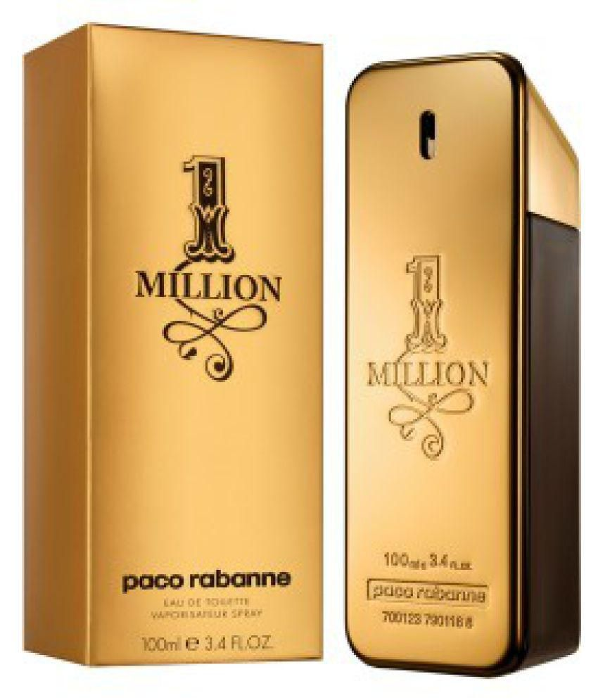 62c2dd177e Paco Perfume One Million Men Eau De Toilette 100ML  Buy Online at Best  Prices in India - Snapdeal