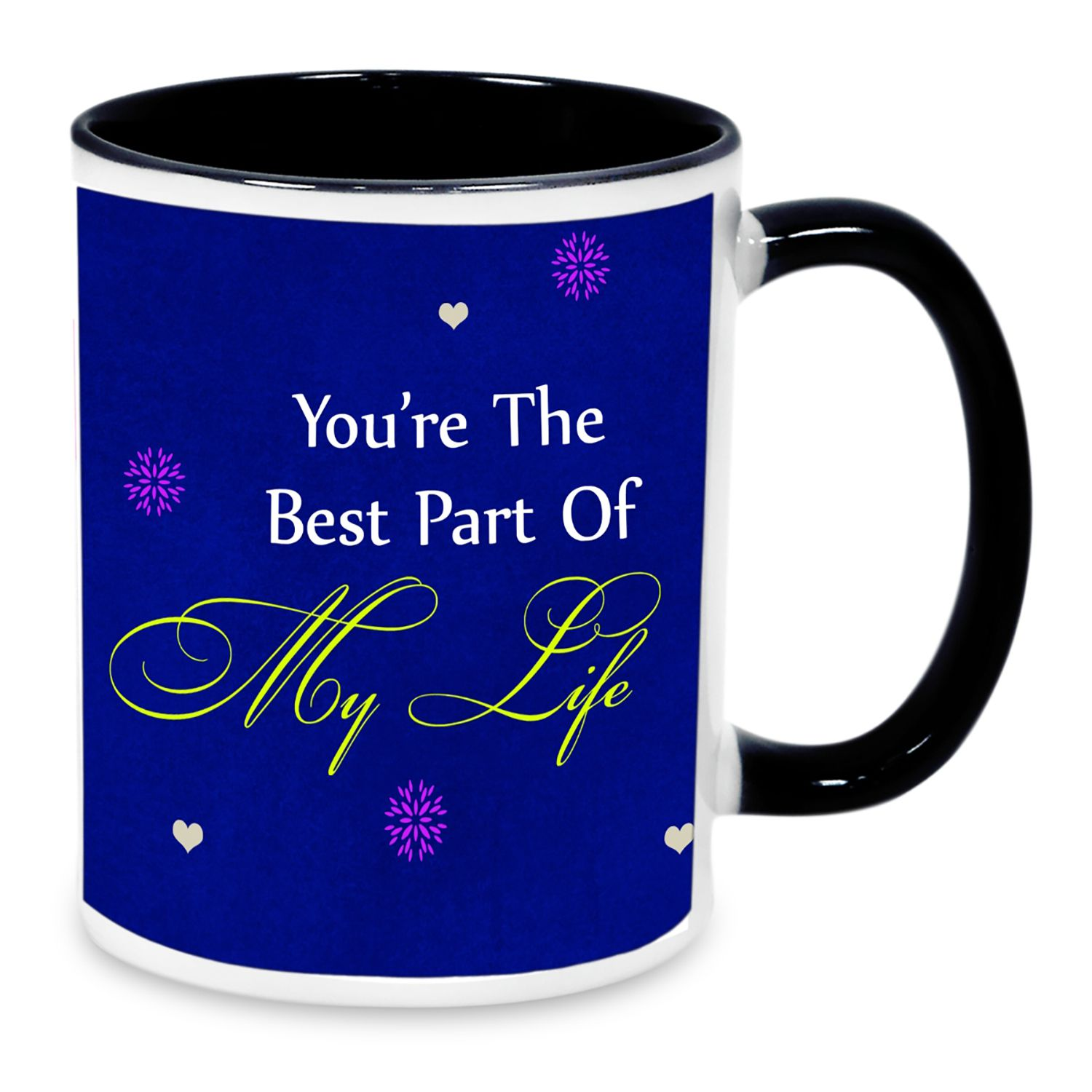 AlwaysGift Ceramic My Life Printed Mug/Gifts For