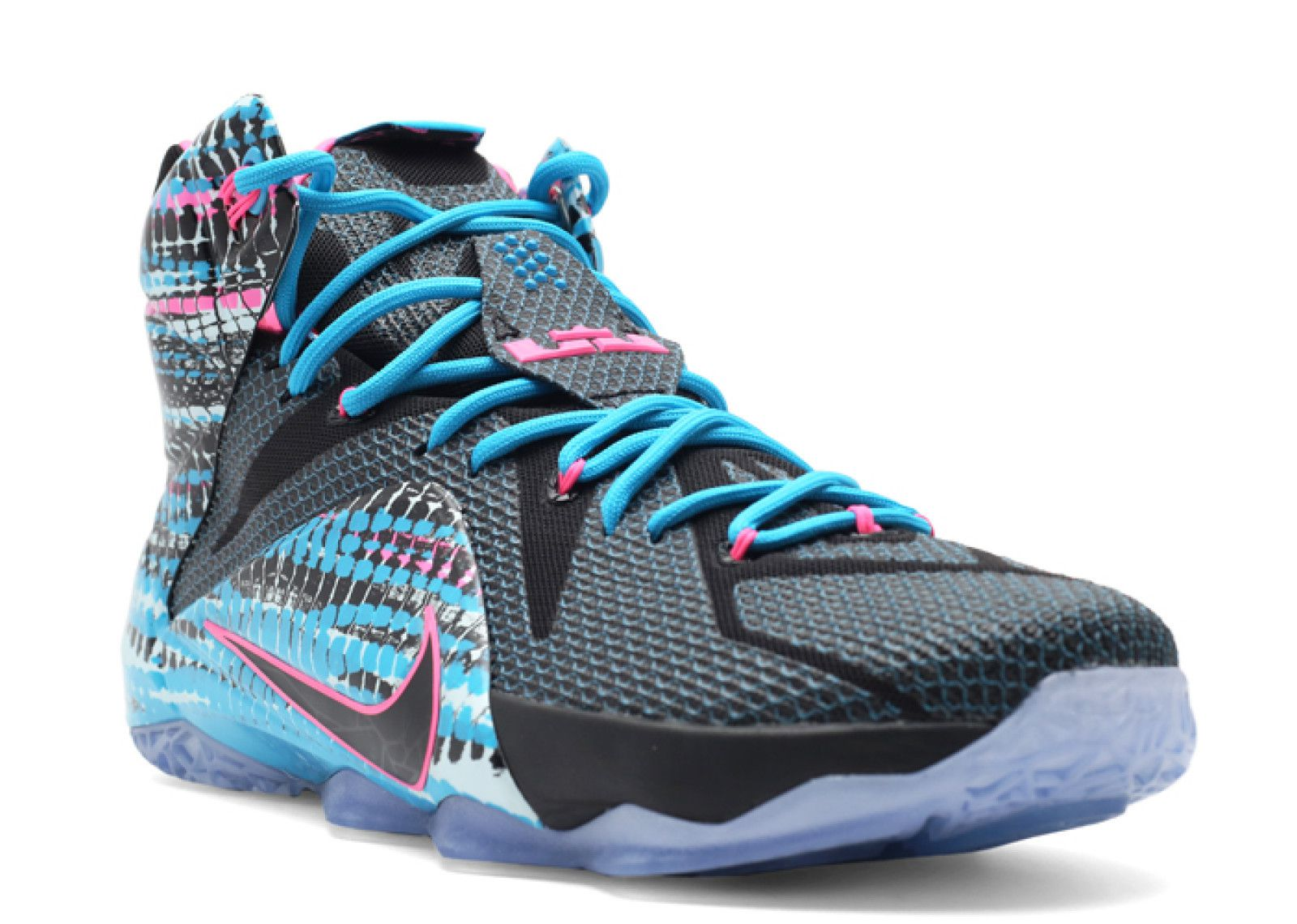 44156c041a4b Foot Locker Unlocked Nike LeBron 12  Nike 2018 Lebron X11 CHROMOSOMES Blue  Basketball Shoes . 150.00 Lebron 12 23 chromosomes  Colorway ...