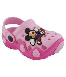 Pollo Pink Clogs