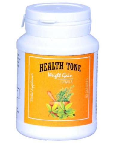 Dvine Beauty Health Tone Weight Gain Formula Capsule 90 gm Unflavoured Single Pack