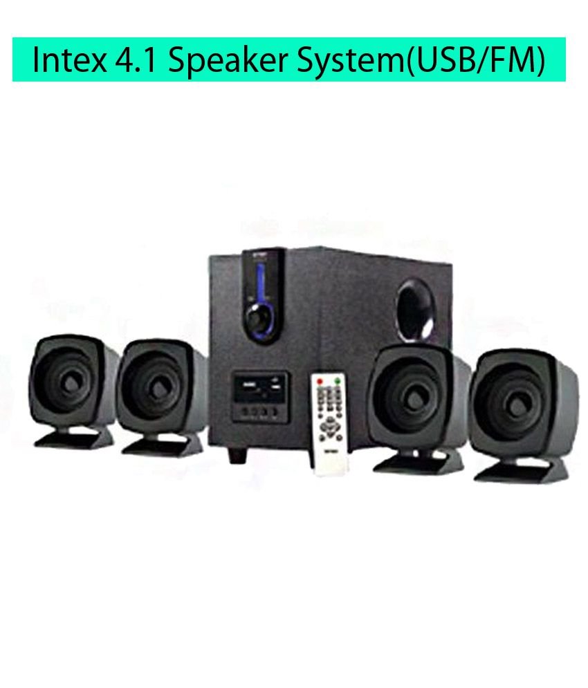Buy Intex It 2616 Suf 4 1 Speaker System Online At Best Price In India Snapdeal