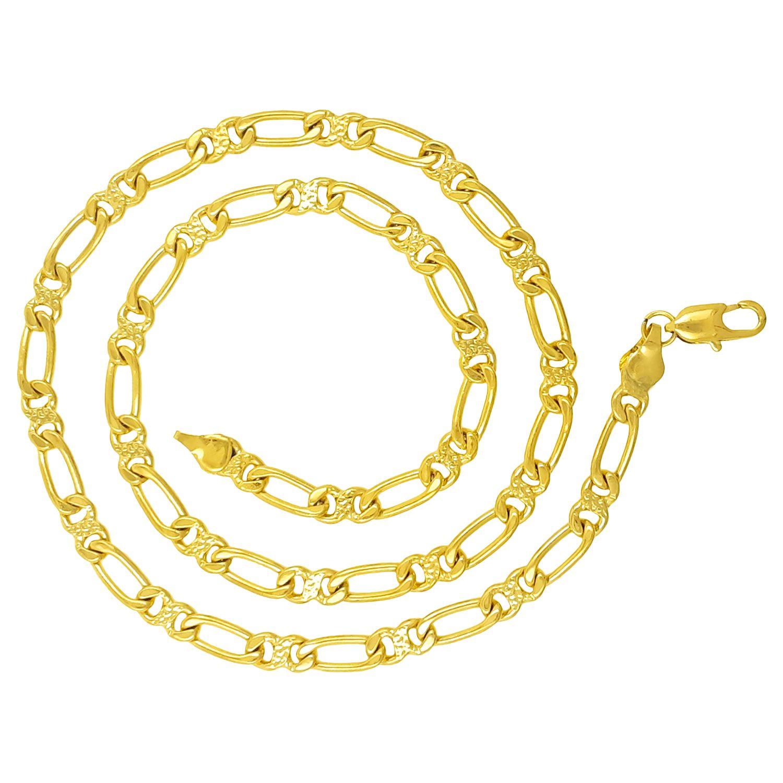 Saizen CH251 Designer Gold Tone Chain For Men, Boyfriend & Husband