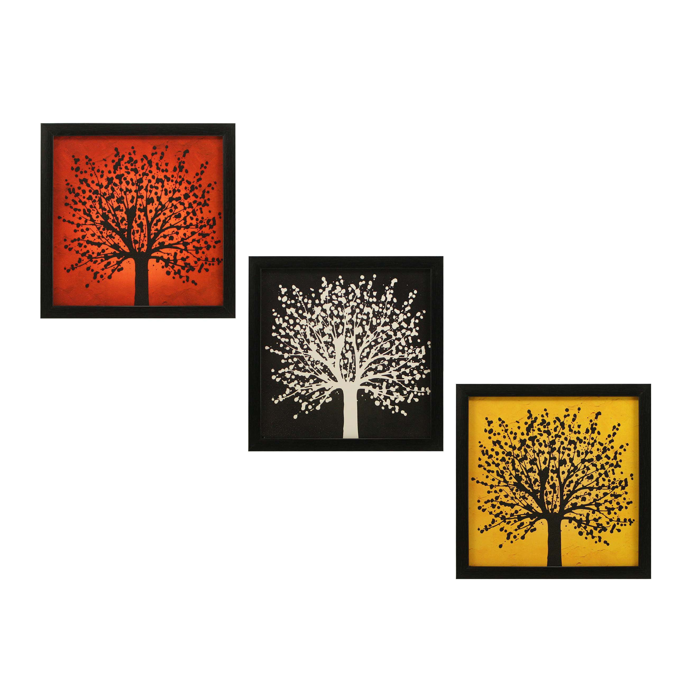 Indianara Modern Décor MDF Painting With Frame