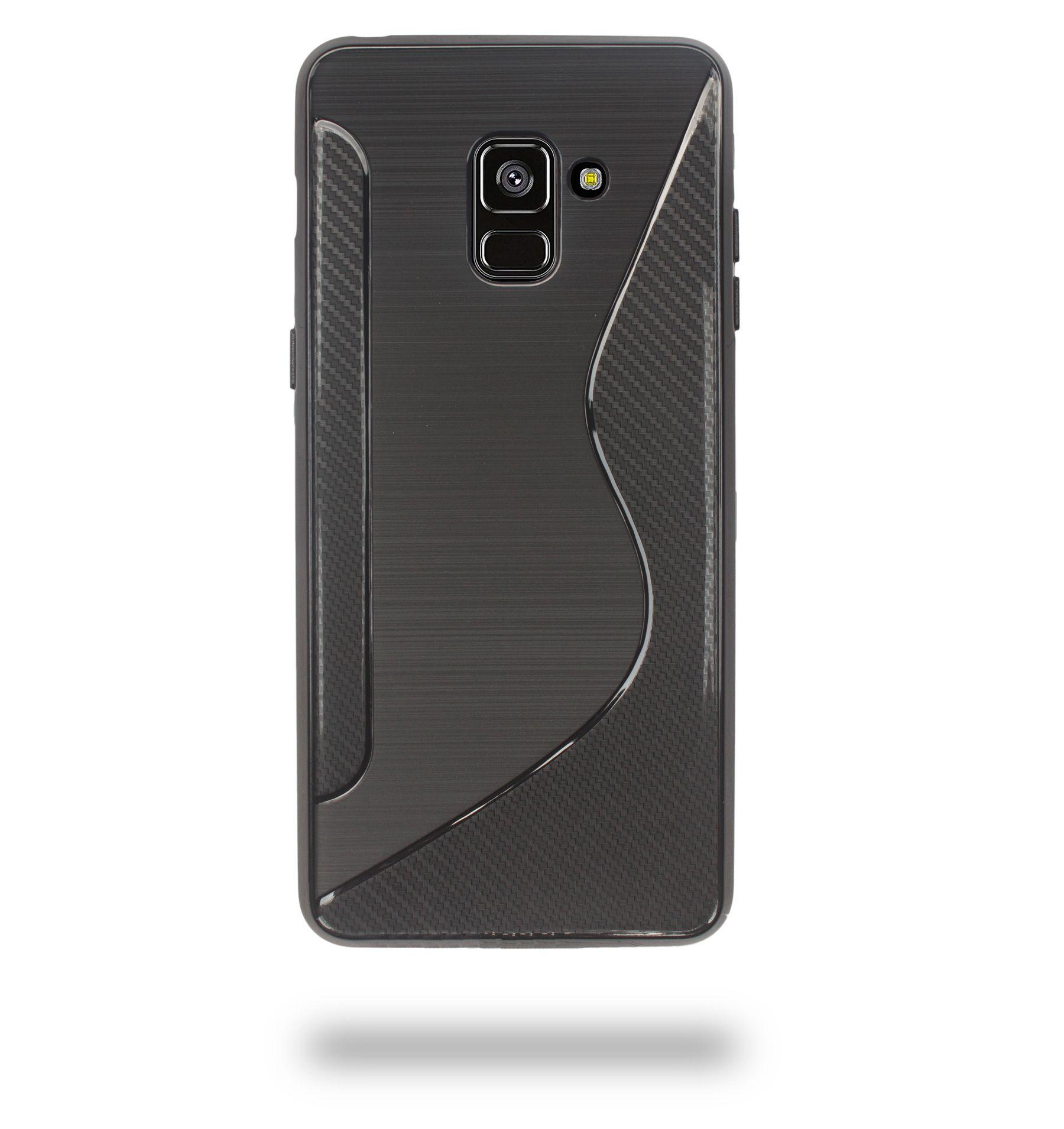 newest ee091 bbd36 Samsung Galaxy A8 Plus Shock Proof Case Ceego - Black