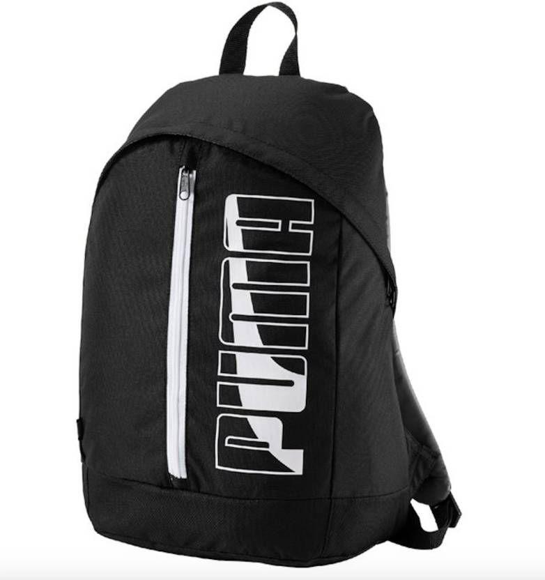 5ffeebddd7 Puma Branded Backpack Laptop Bags College Bags School Bags Black Pioneer II  - Buy Puma Branded Backpack Laptop Bags College Bags School Bags Black  Pioneer ...