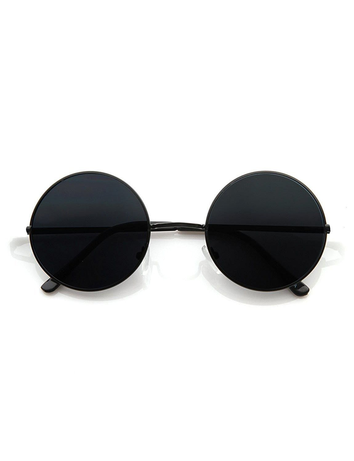 a54915809d Hipe Black Round Sunglasses ( BLK-Round-7 ) - Buy Hipe Black Round  Sunglasses ( BLK-Round-7 ) Online at Low Price - Snapdeal