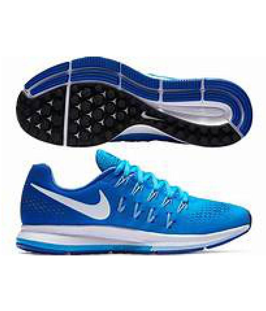 33abb9f9595498 Nike Air zoom 33 pegasus Blue Running Shoes - Buy Nike Air zoom 33 pegasus  Blue Running Shoes Online at Best Prices in India on Snapdeal
