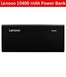 Lenovo Pa10400 10400 Mah Power Bank-black