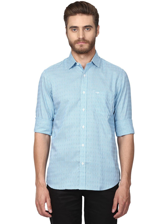 Colorplus Blue Slim Fit Shirt
