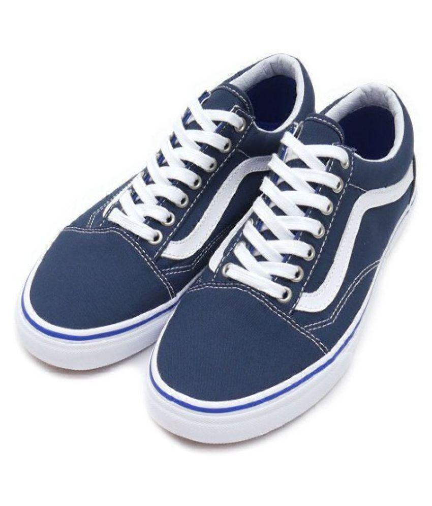 VANS Old Skool Fashion Sneakers Blue Casual Shoes - Buy VANS Old Skool  Fashion Sneakers Blue Casual Shoes Online at Best Prices in India on  Snapdeal 756c3ff27d