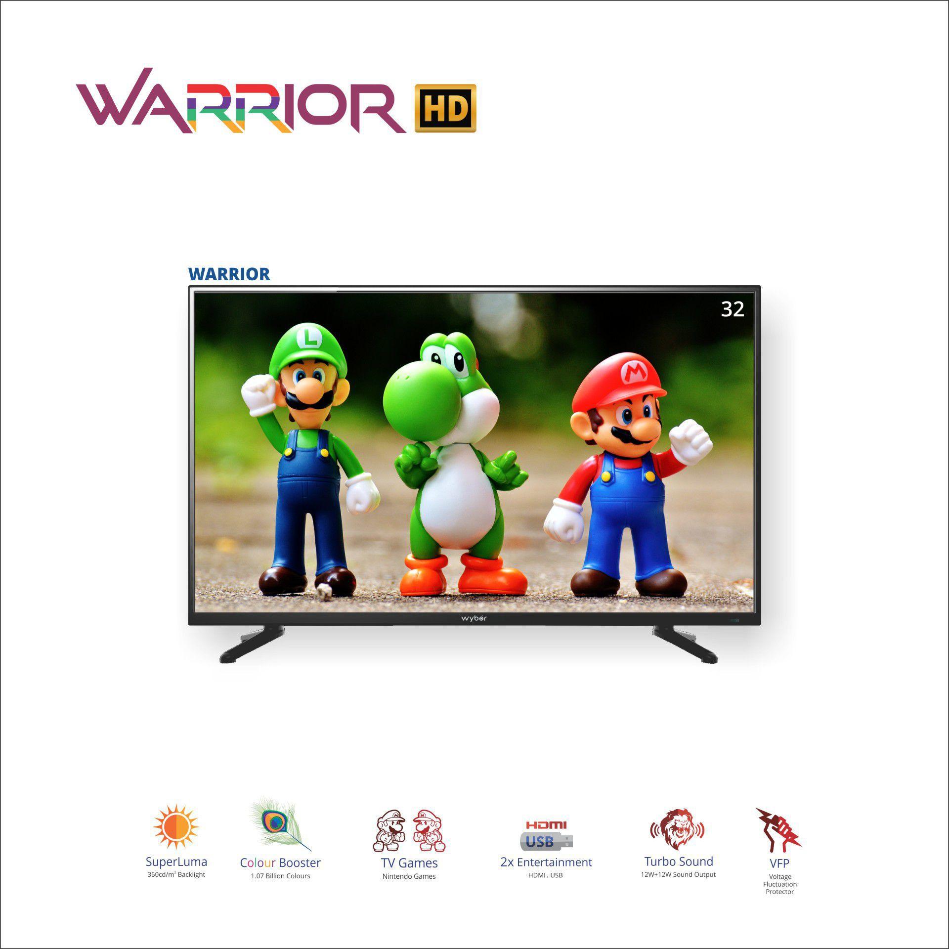 WYBOR WARRIOR 80 cm ( 32 ) HD Ready (HDR) LED Television