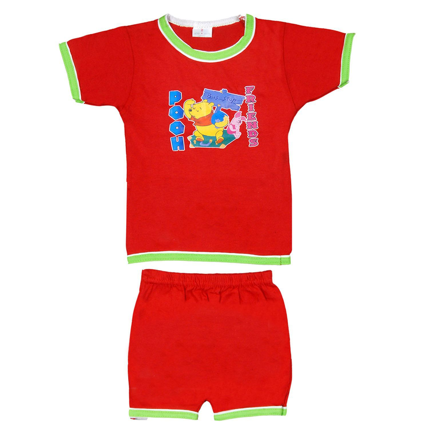 d8314acb1472 Baby Boys Half Sleeves Folding Type Printed 10 Tops Matching 10 ...