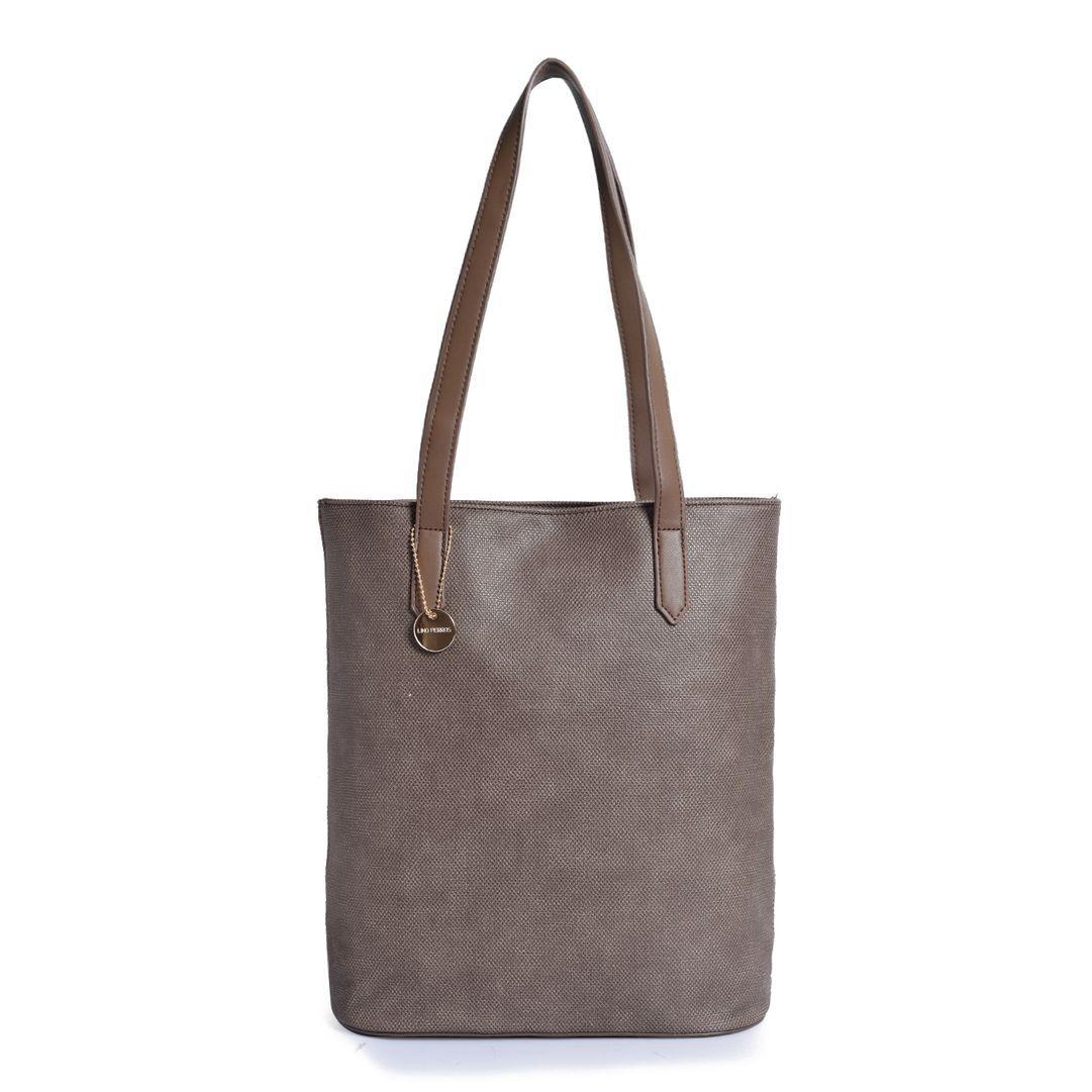 Lino Perros Brown Artificial Leather Shoulder Bag
