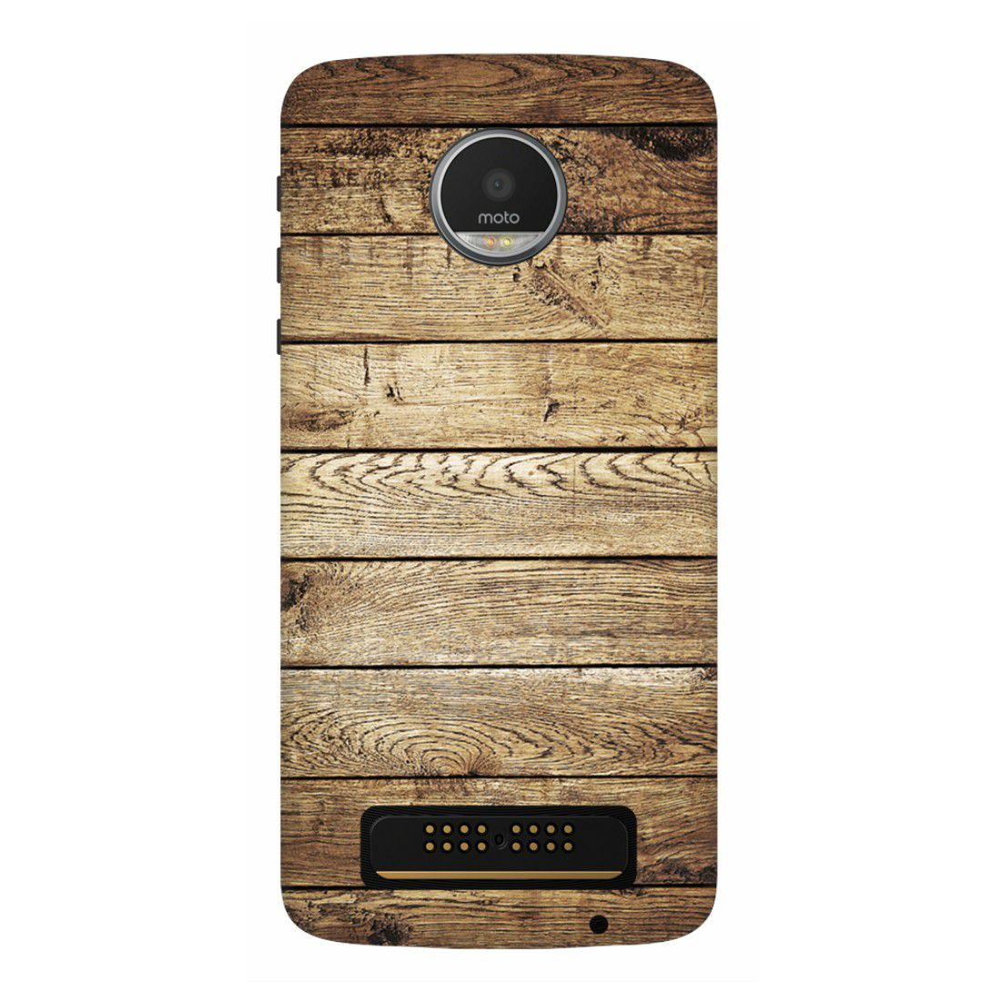 Moto Z Play Printed Cover By wooo