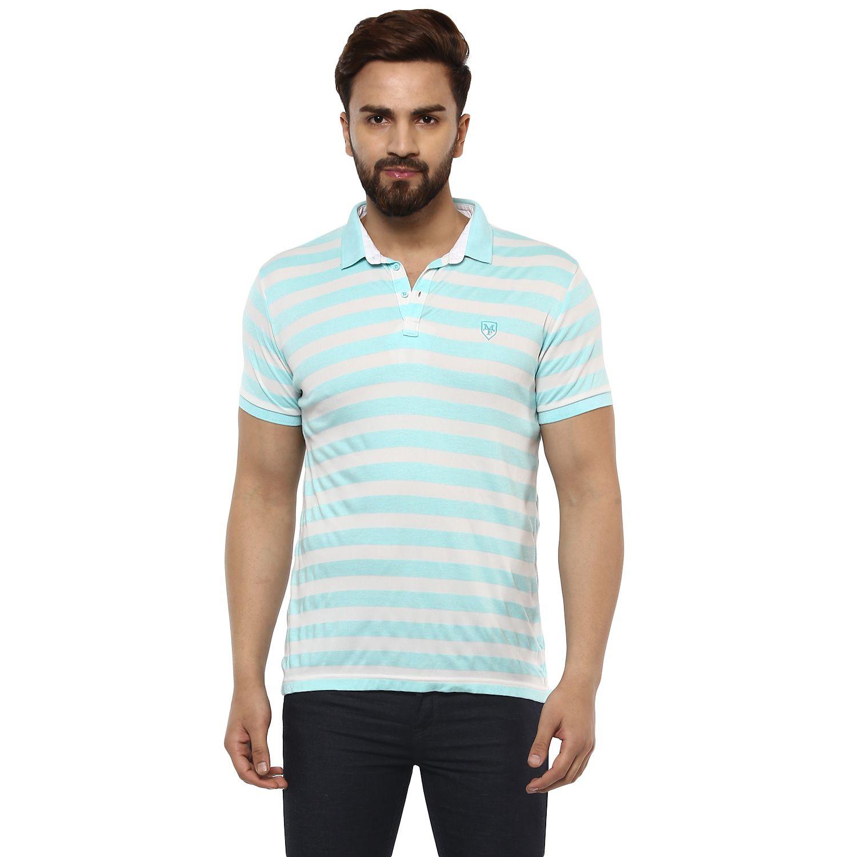 Mufti Blue Henley T-Shirt
