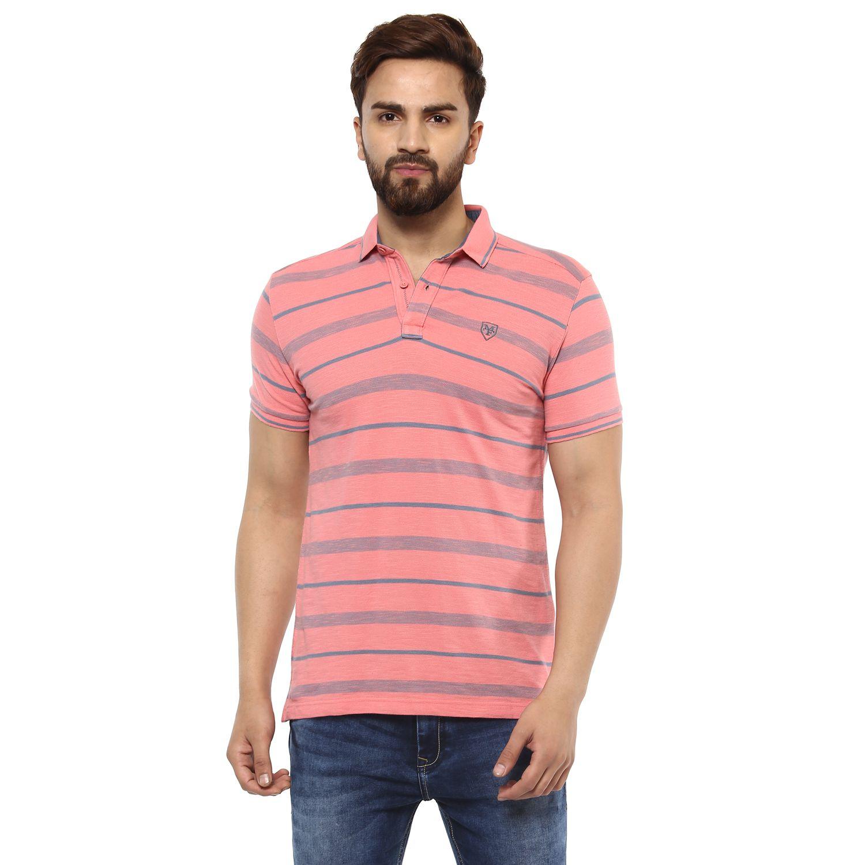 Mufti Pink Henley T-Shirt