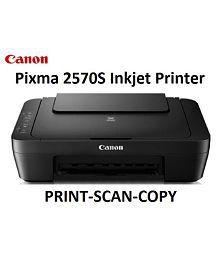 Canon PIXMA MG2570S Multi function (Print,Scan,Copy) All in One Inkjet Printer