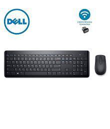 Dell km117 Black Wireless Keyboard Mouse Combo